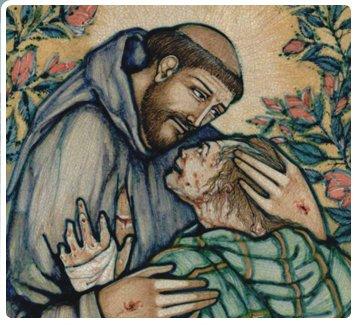 Kissing the Leper